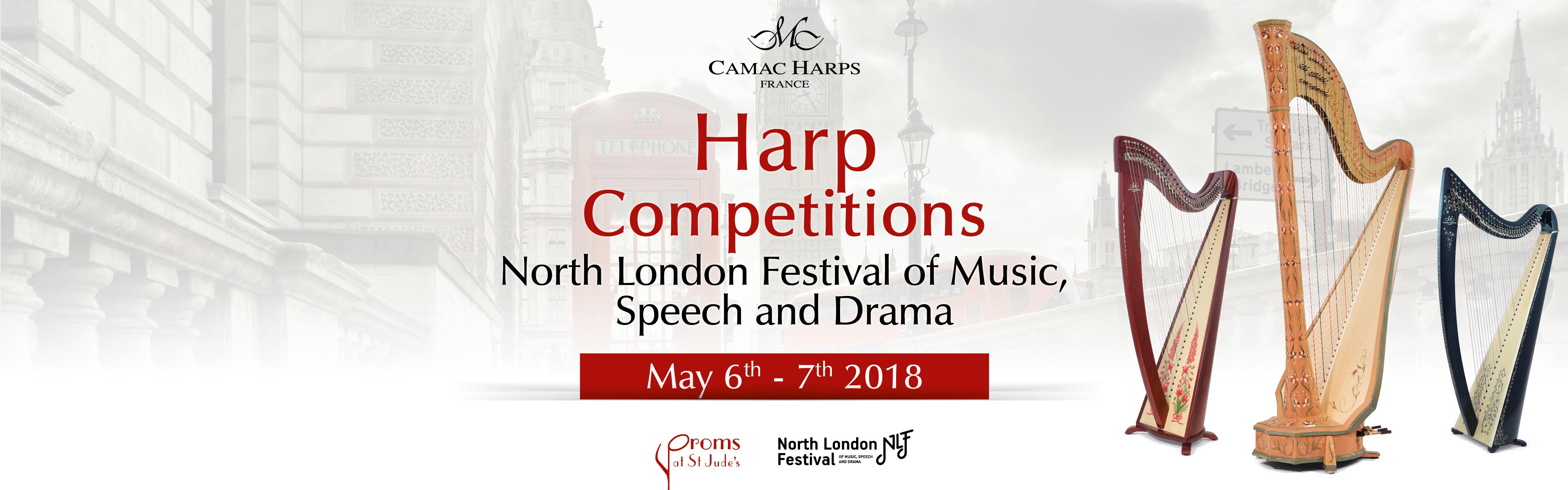 Camac Harp Competition, Londres 2018 - Camac Harps : Camac ...