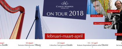 Camac Harpen Nederland on tour 2018