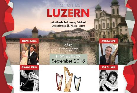 Harfenfest Luzern 2018