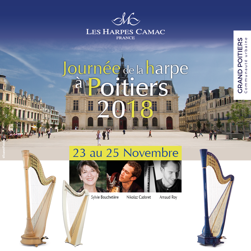 Journées de la harpe à Poitiers