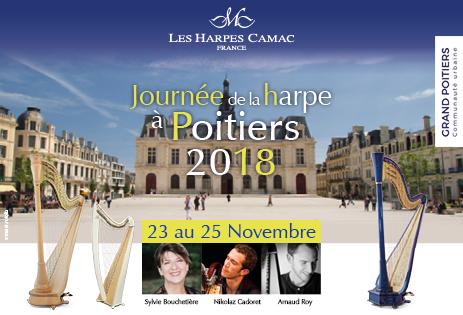 Les journées de la harpe à Poitiers