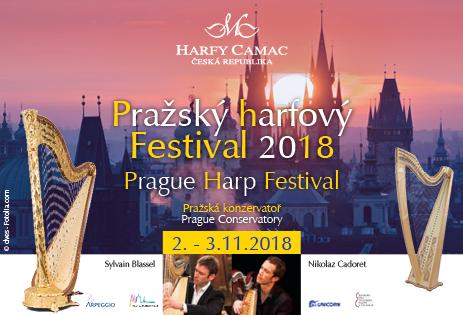 Festival de Harpe à Prague, novembre 2018