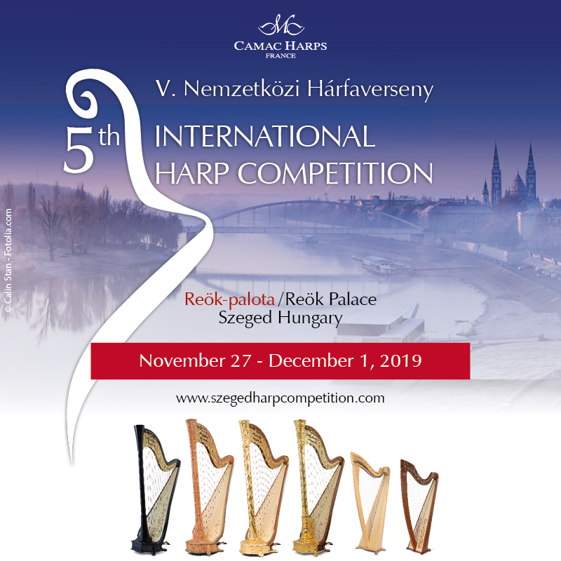 Fifth International Harp Competition, Szeged