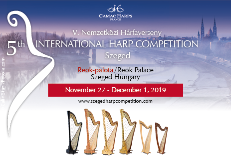 Fifth International Harp Competition de Szeged, Hongrie