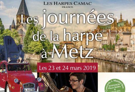 Les Journées de la Harpe à Metz