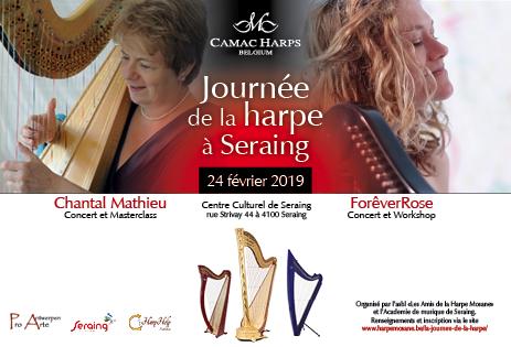 Journée de la harpe à Seraing