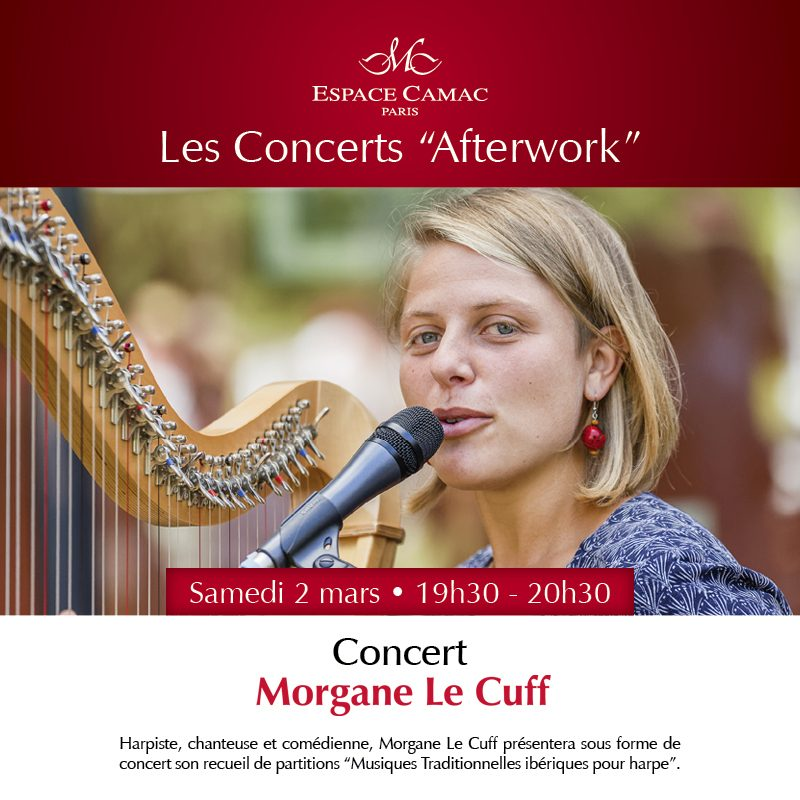 "Concert ""Afterwork"" de Morgane Le Cuff à L'Espace Camac"