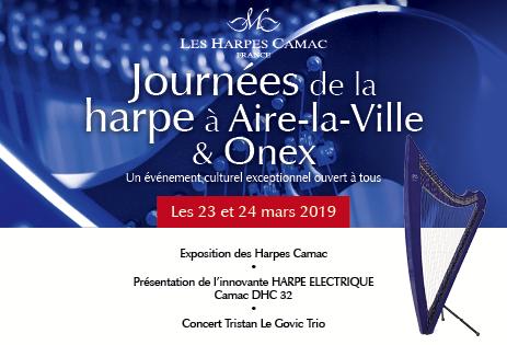 Journées de la harpe à Aire-la-Ville et Onex