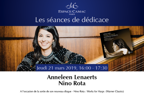Latest album from Anneleen Lenaerts: exclusive pre-release signing at L'Espace Camac