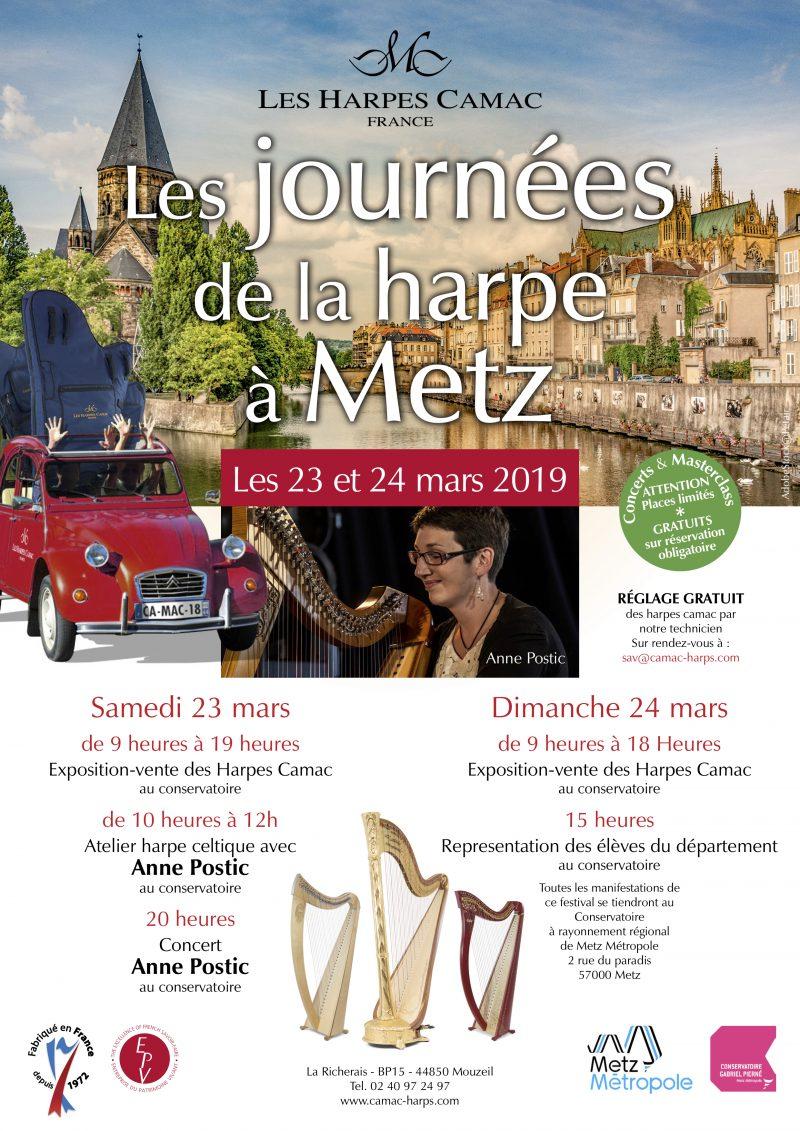Journées de la harpe à Metz 2019