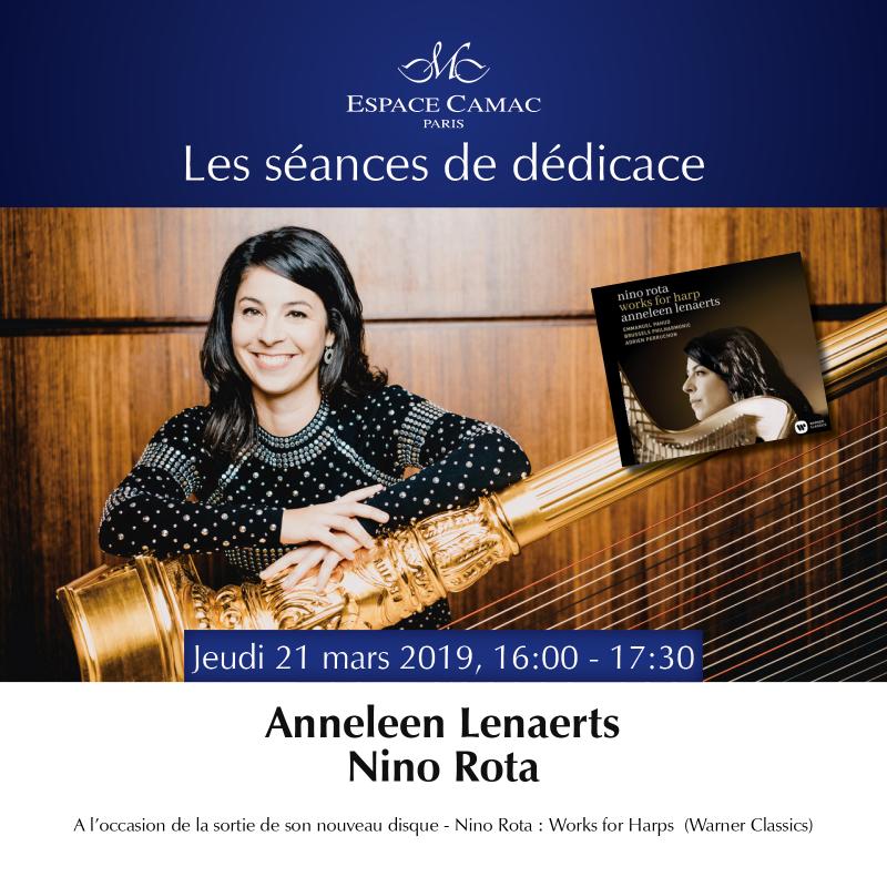 Lenaerts / Signing Paris 2019