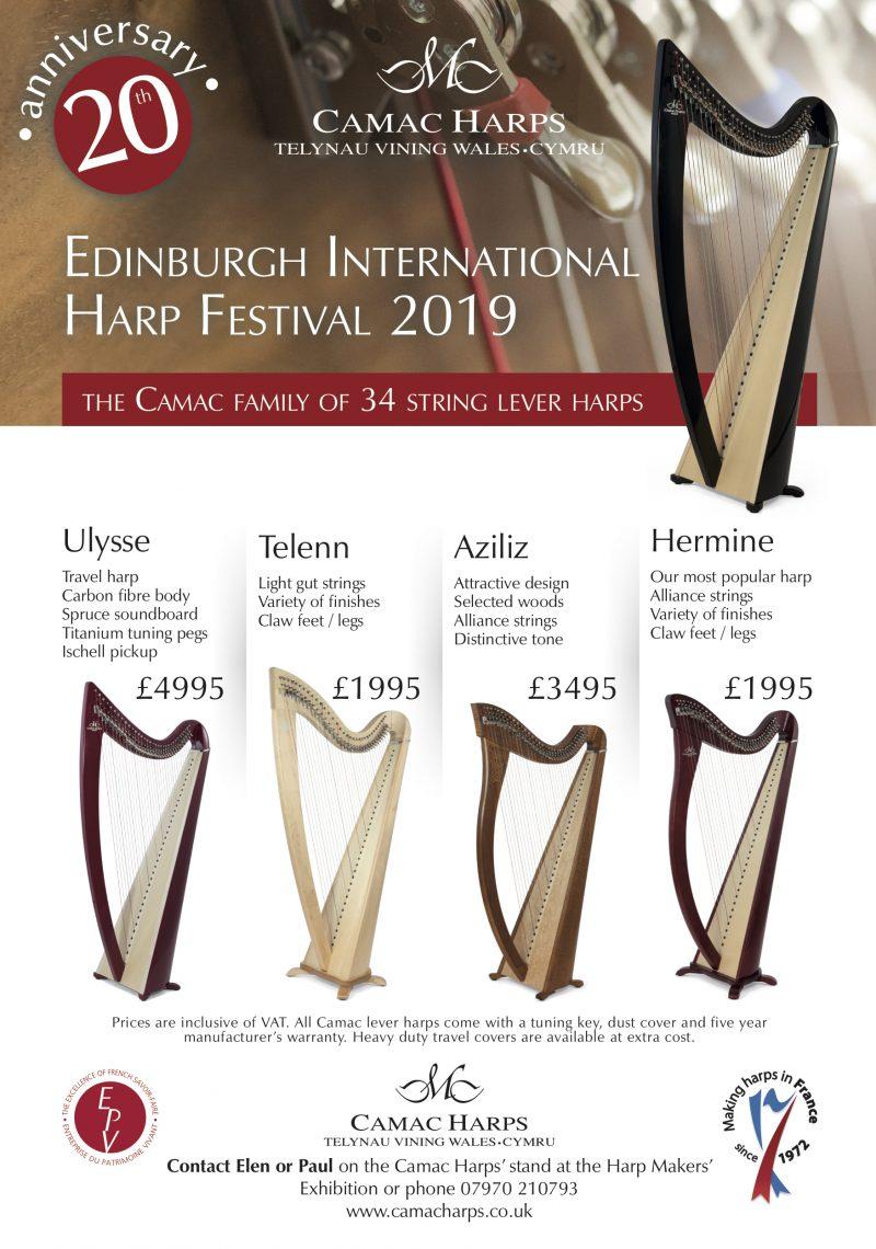 Edinburgh International Harp Festival 2019