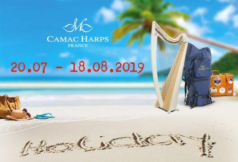 Vacances d'été pour Camac France