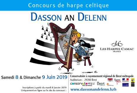 Dasson an Delenn: concours de harpe celtique