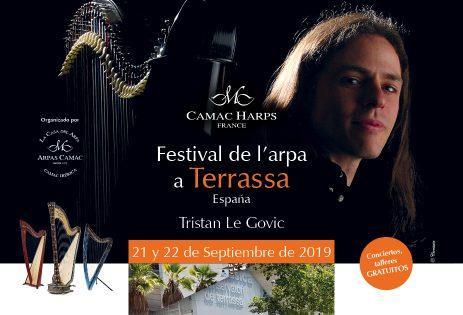 Festival de l'arpa à Terrassa, Espagne