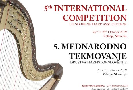 5th International Competition of the Harpist Association of Slovenia