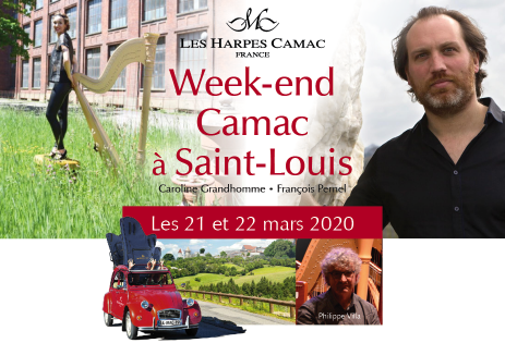 Camac Weekend in Saint-Louis, with François Pernel, Caroline Grandhomme and Philippe Villa