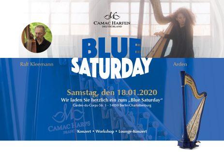 """""""Blue Saturday"""" at Camac Berlin"""