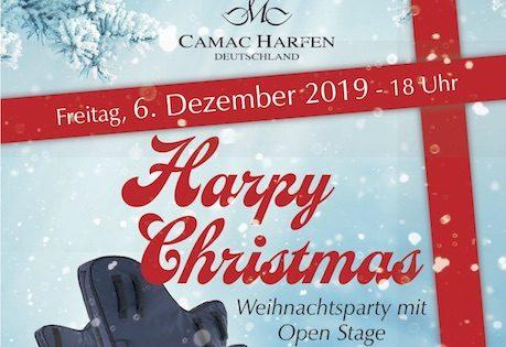 """Harpy Christmas"" at Camac Berlin"