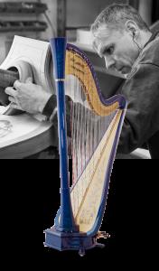 Harpes électriques et électroacoustiques