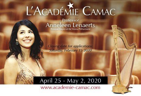 Académie Camac 2020: POSTPONED