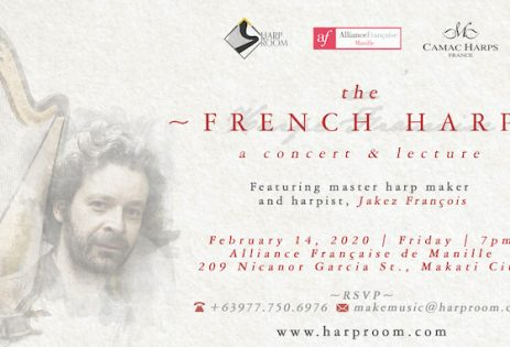 « The French Harp » à l'Alliance française de Manille