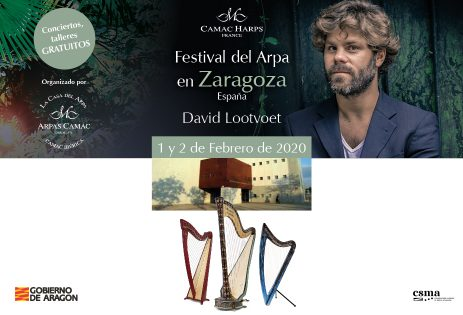 Recital and masterclass by David Lootvoet: Zaragoza, Spain