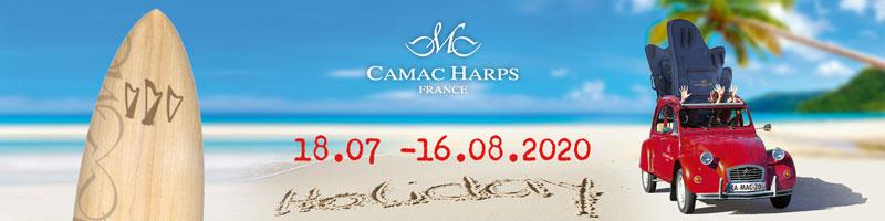 Vacances d'été pour Camac France 2020