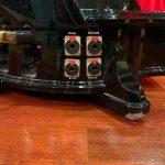 Camac Blue 47 table droite d'occasion, finition noir brilliant