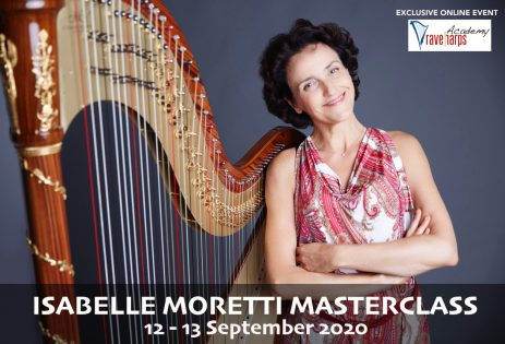 Online masterclass with Isabelle Moretti | Rave Harps | Camac Singapore
