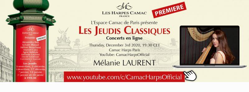 Les Jeudis Classiques : Mélanie LAURENT