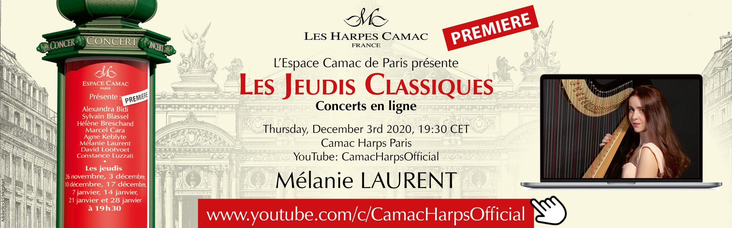 Les Jeudis Classiques: Mélanie LAURENT