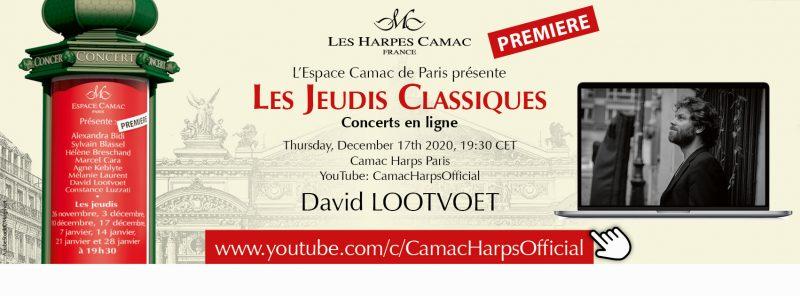 Les Jeudis Classiques : David Lootvoet