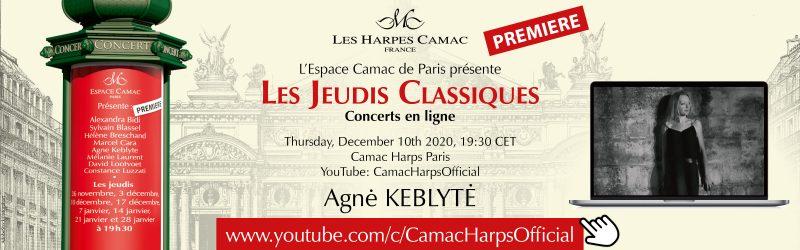 Les Jeudis Classiques : Agne KEBLYTE