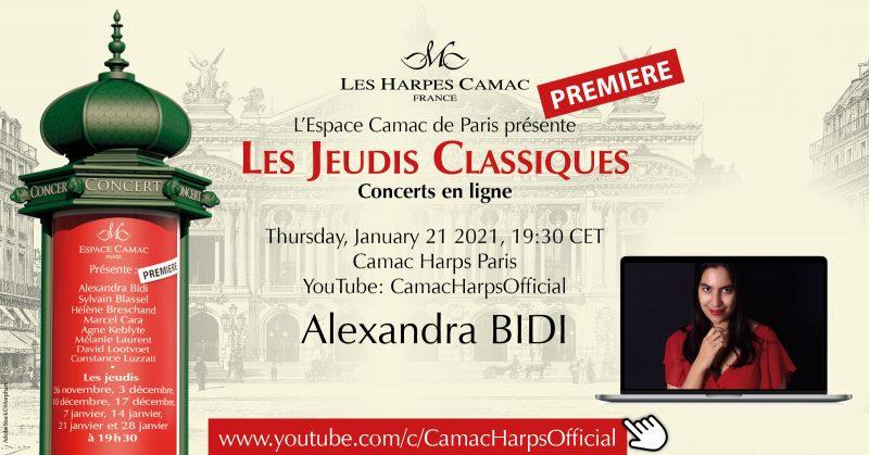 Les Jeudis Classiques : Alexandra BIDI