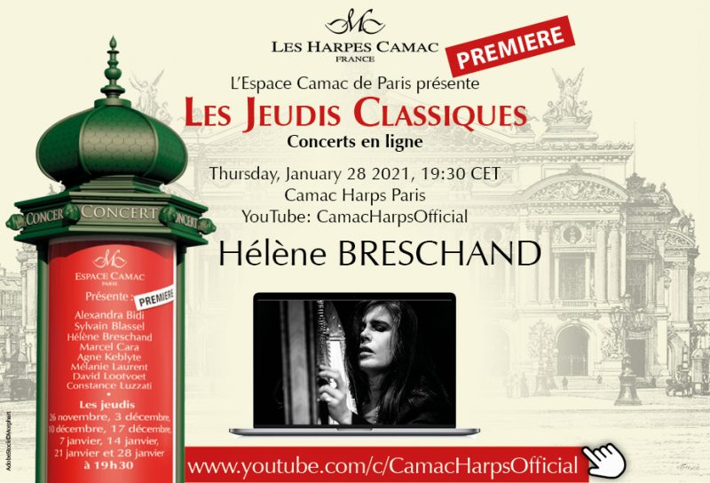 Les Jeudis Classiques : Hélène Breschand