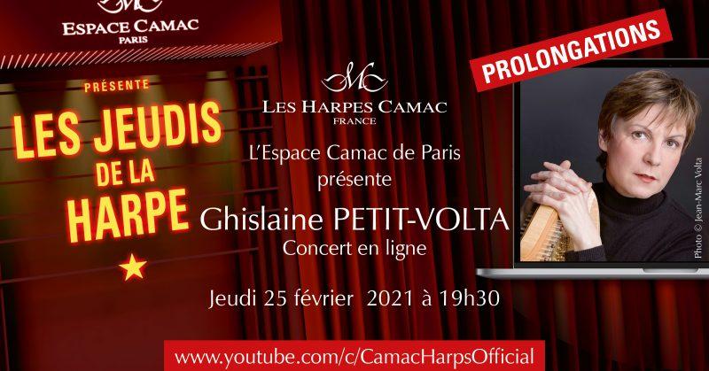 Les Jeudis de la Harpe : Ghislaine Petit-Volta