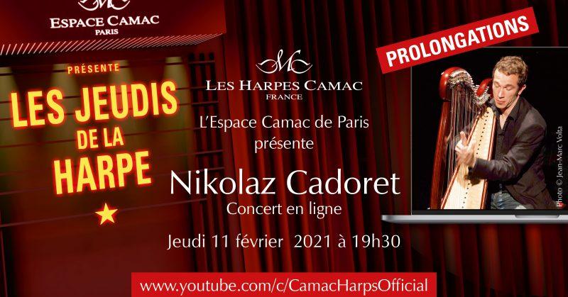 Les Jeudis de la Harpe : Nikolaz CADORET