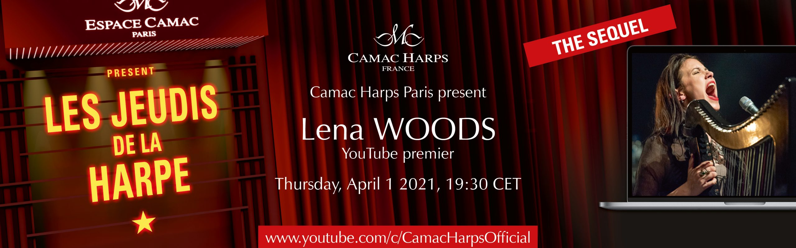 Les Jeudis de la Harpe : Lena Woods