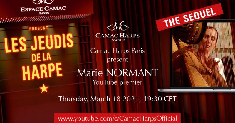 Les Jeudis de la Harpe: Marie Normant