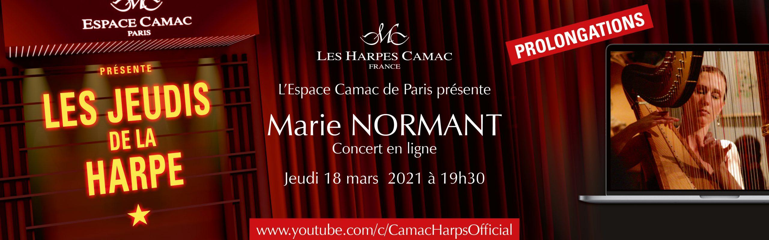 Les Jeudis de la Harpe : Marie NORMANT
