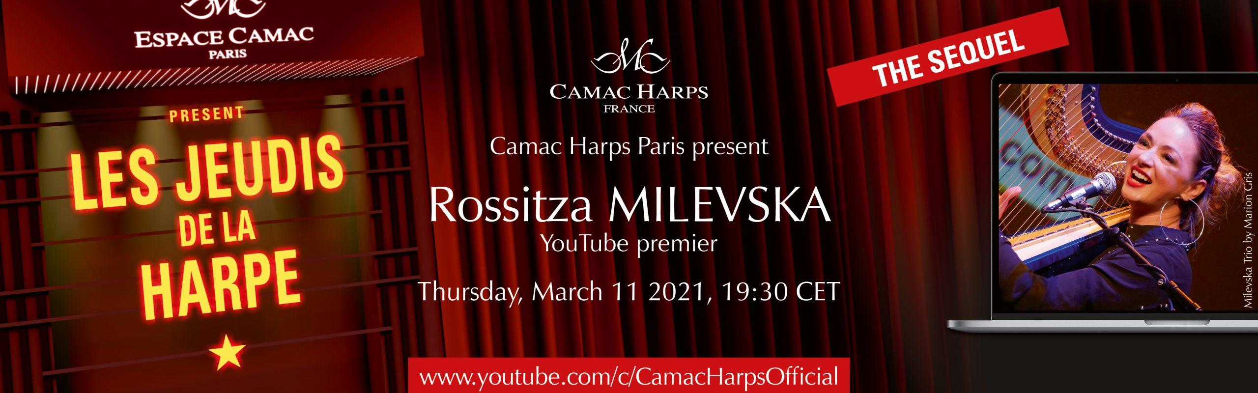 Les Jeudis de la Harpe : Rossitza Milevska