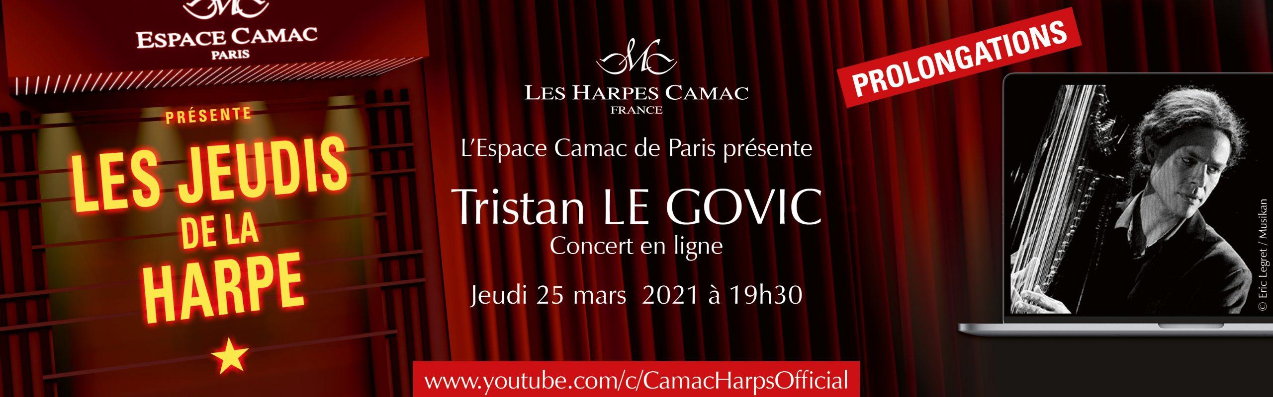 Les Jeudis de la Harpe : Tristan Le Govic