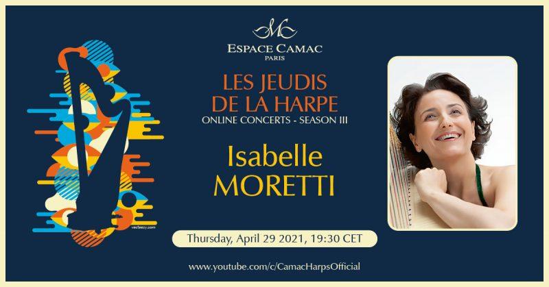 Les Jeudis de la Harpe: Isabelle Moretti