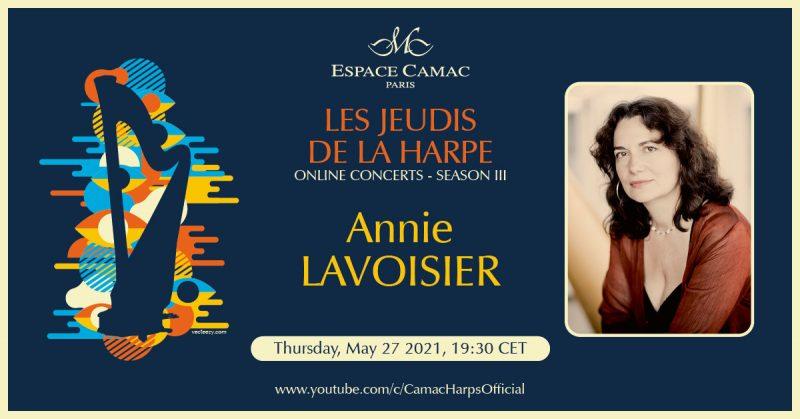 Les Jeudis de la Harpe : Annie Lavoisier