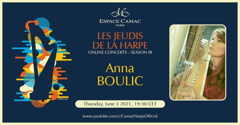 Les Jeudis de la Harpe: Anna Boulic