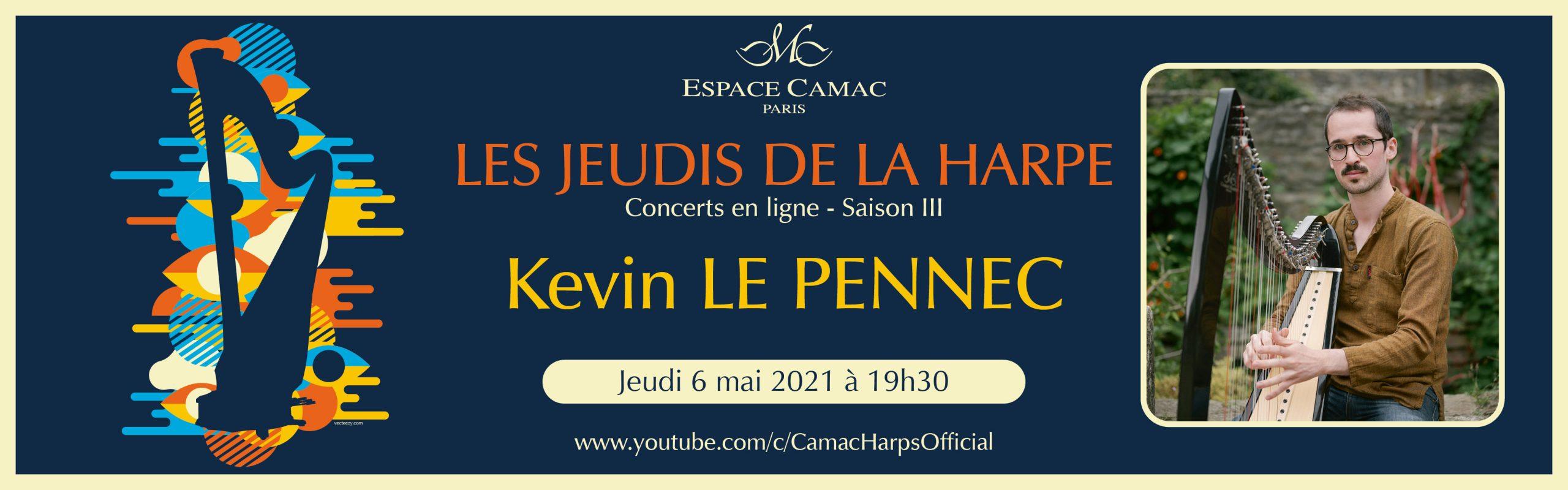 Les Jeudis de la Harpe : Kevin Le Pennec