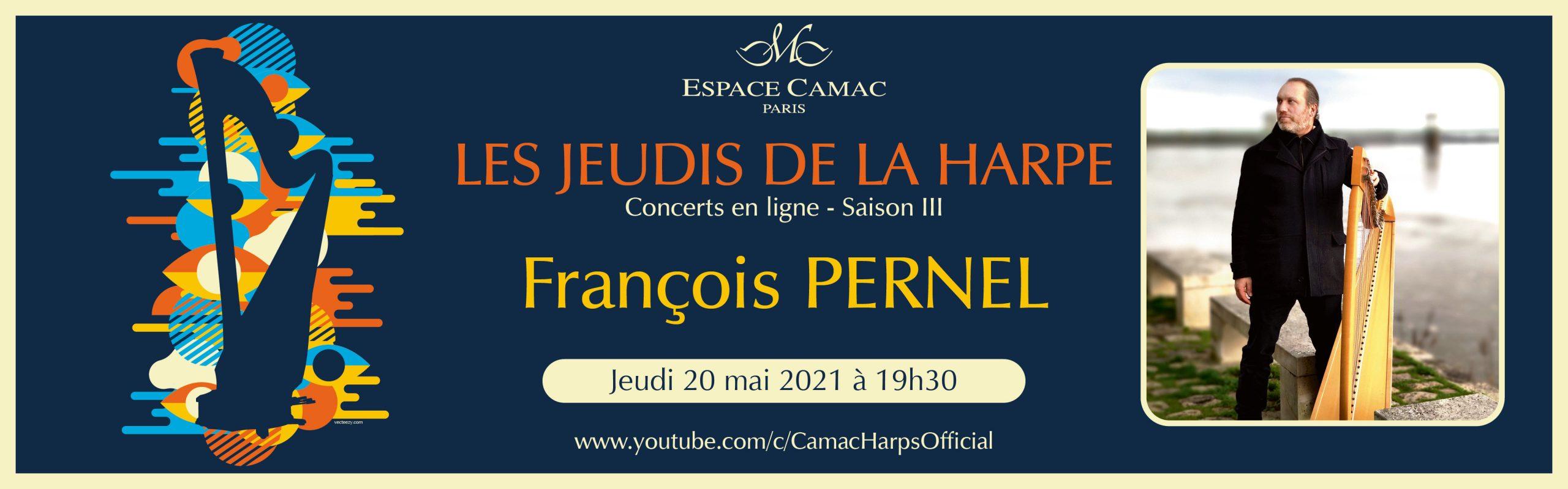 Les Jeudis de la Harpe : François Pernel