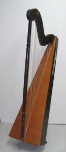 A South American harp in Jakez's private collection