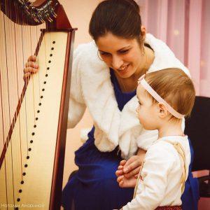 Veronika with Bardic and baby